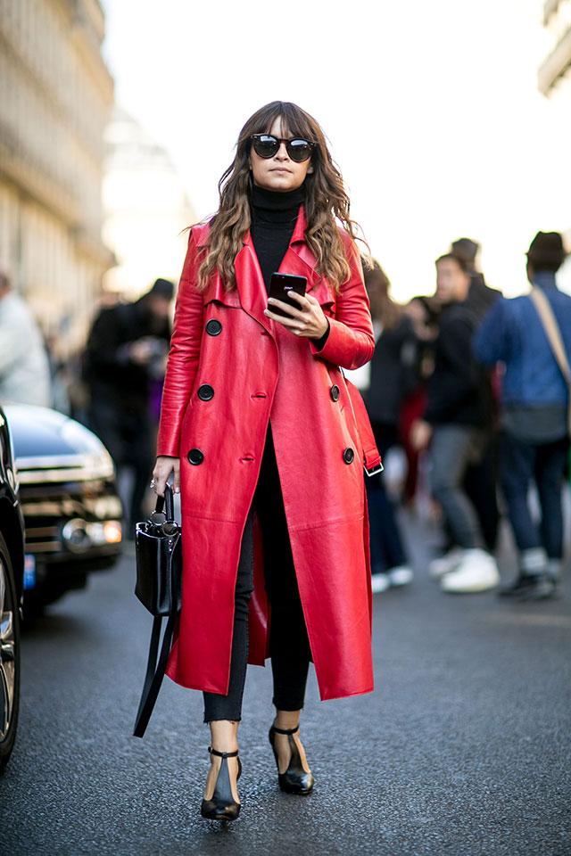 Неделя моды в Париже, весна-лето 2016: street style. Часть 1 (фото 4)