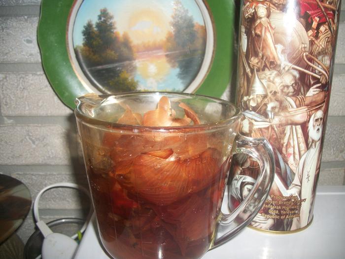 Луковый чай - полезно ,недорого, необходимо.