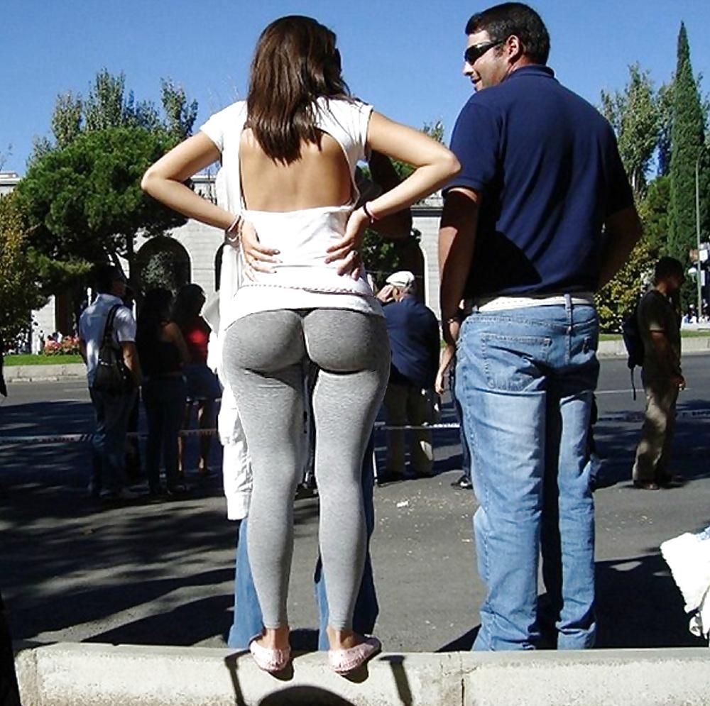 Телка в брюках 11 фотография