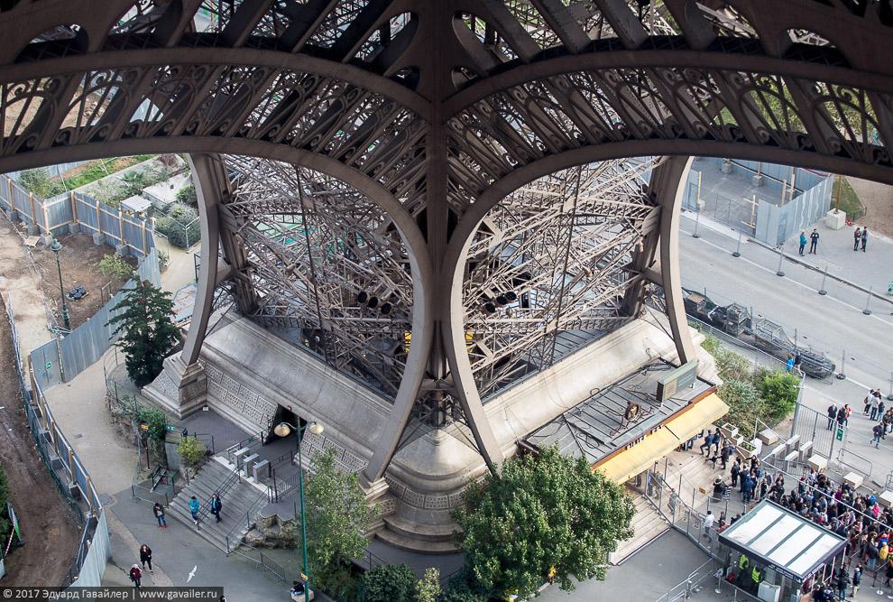 Прошлое и настоящее Эйфелевой башни