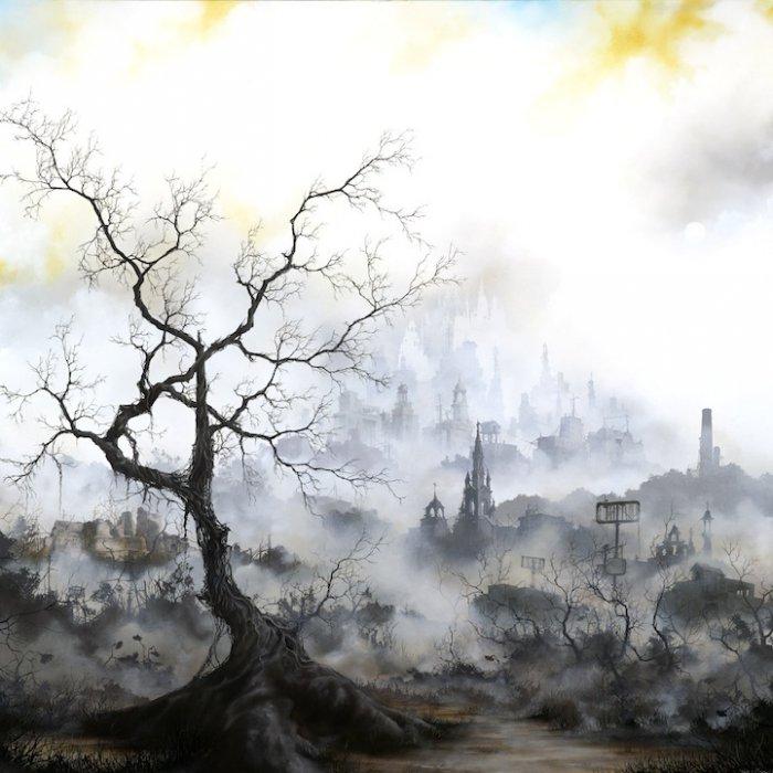 Дымчатые городские пейзажи Брайана Мэшберна (Brian Mashburn)