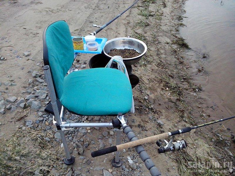рыбалка на стуле