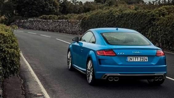 Обновленная Audi TT рассекречена до премьеры