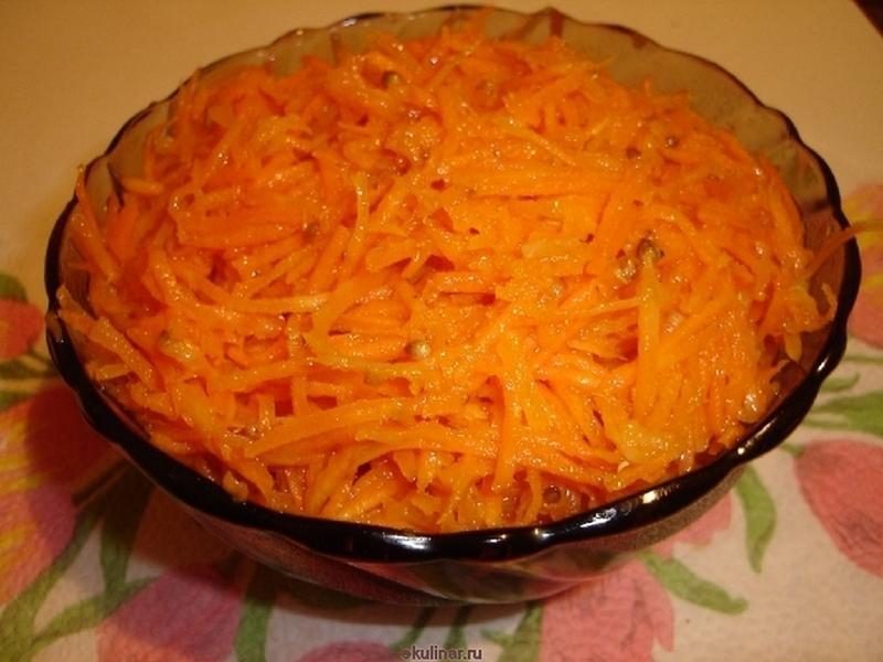 Морковь по-корейски в домашних условиях с готовой приправой рецепт