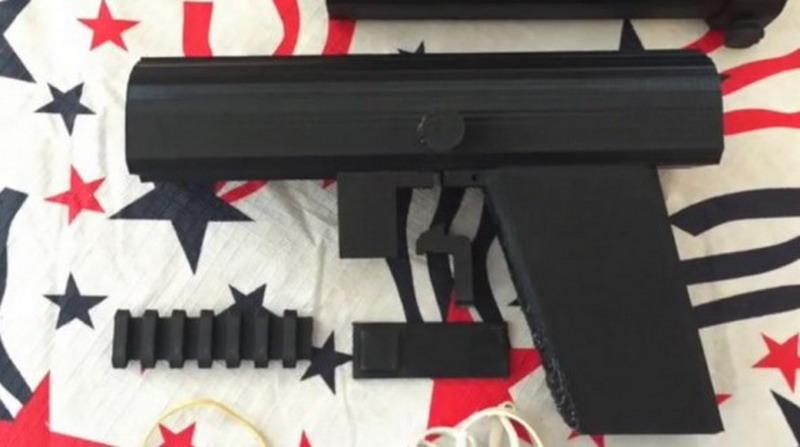 Пистолет, который стреляет ядовитыми дротиками и не определяется металлодетекторами, можно с лёгкостью напечатать на 3D-принтере