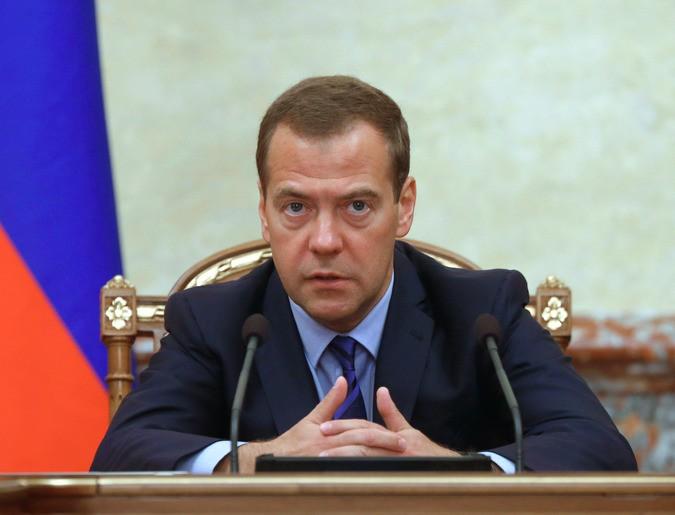 Медведев отправил главу МЧС полетать над горящей Сибирью