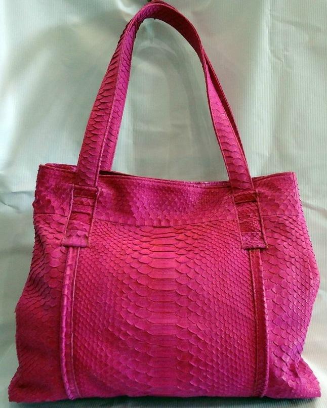сумки из питона