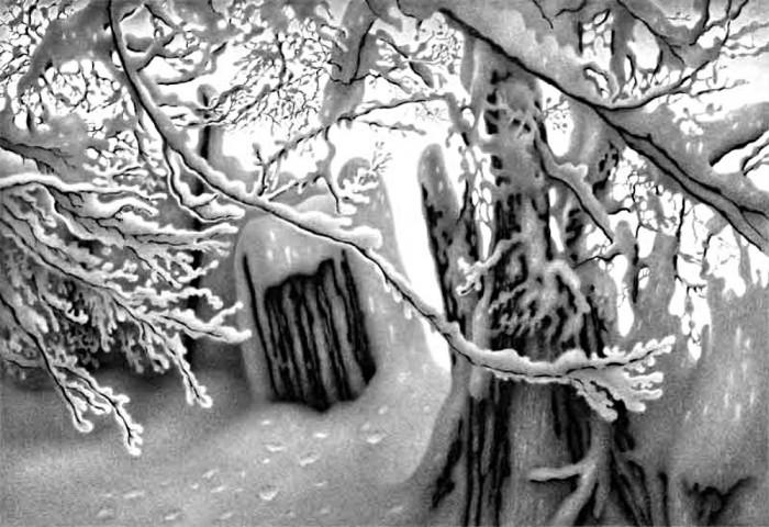 рисунки карандашом Гурам Доленджашвили - 06
