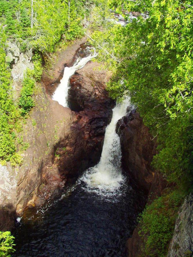 чайник дьявола водопад, сша