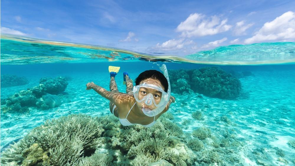 Уголки мира с самой прозрачной голубой водой