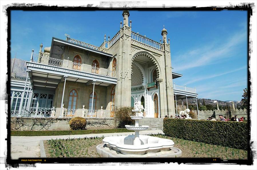Воронцовской дворец Алупка