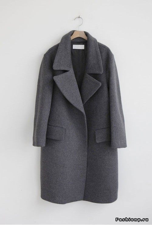 Зимнее пальто, мк. Часть 1