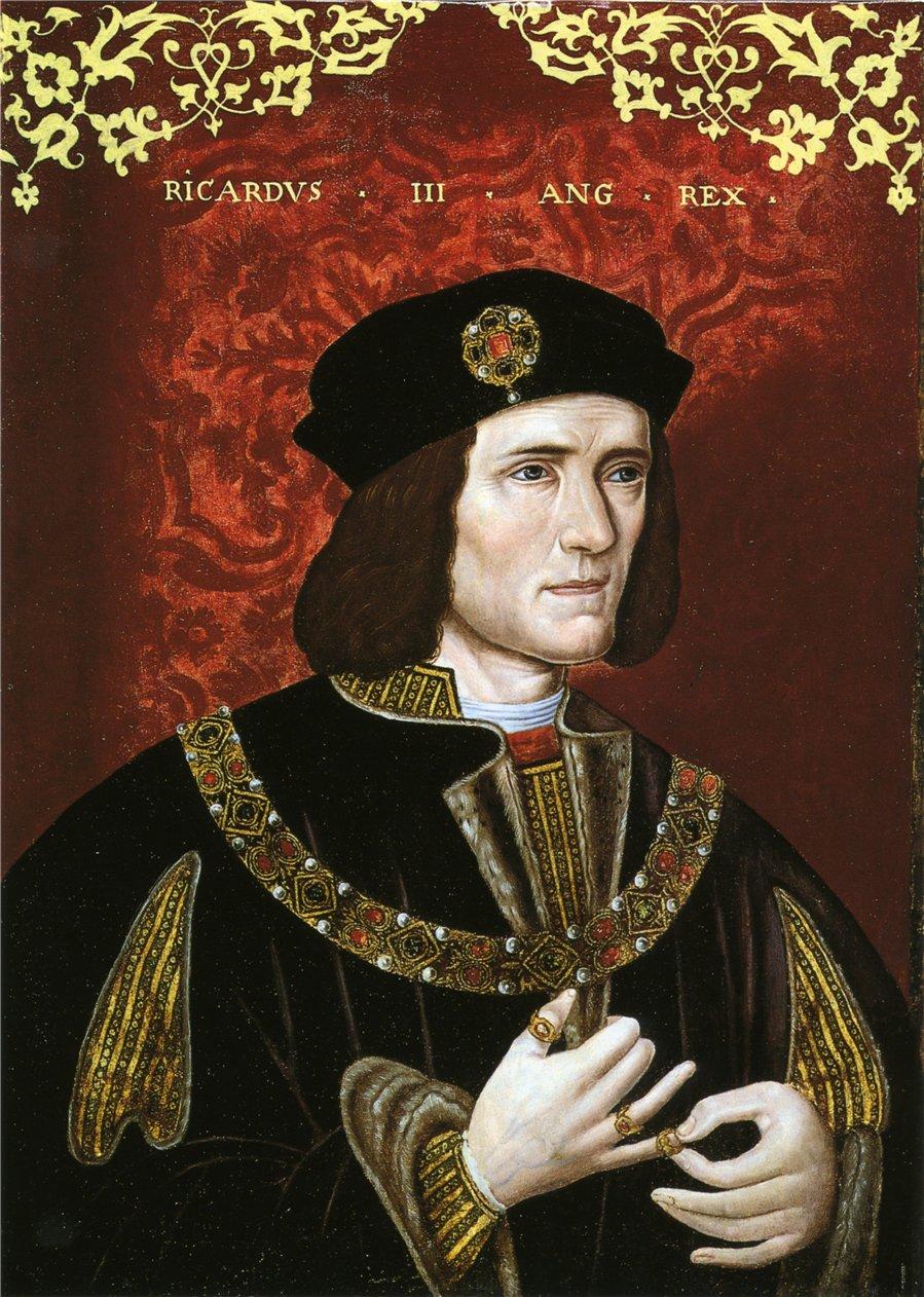 describing richard the duke of gloucester as a villain