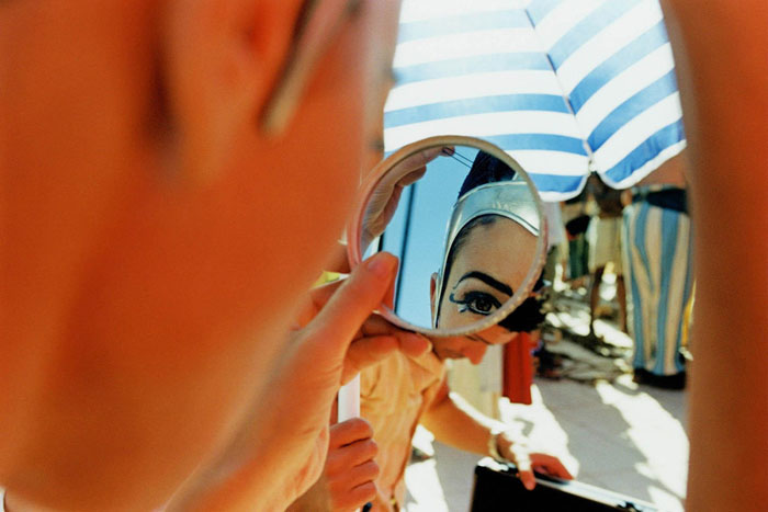 Моника Белуччи (Monica Bellucci) в фотосессии для фильма «Астерикс и Обеликс: Миссия «Клеопатра» (Asterix & Obelix Meet Cleopatra) (2002), фотография 7