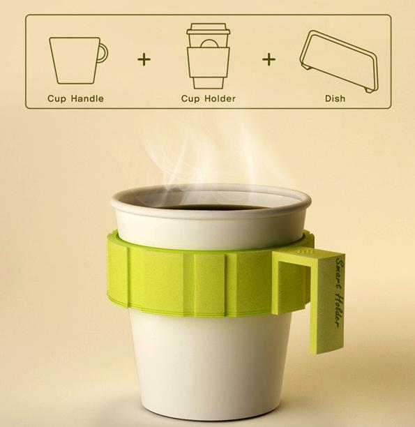 Сколько чашек с горячим кофе уместится в одной руке