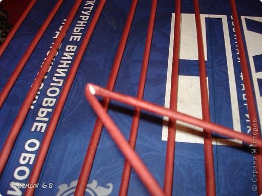 """Мастер-класс Плетение: Сундук на колесах в стиле """"минимализм"""" Бумага газетная Отдых. Фото 22"""