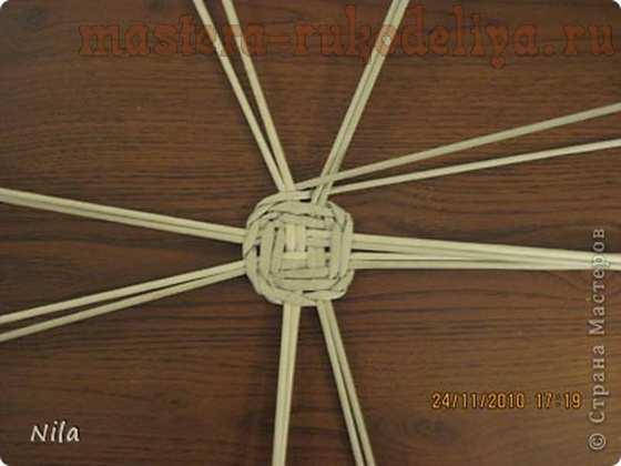 Видео мастер класс плетения корзинки из газет