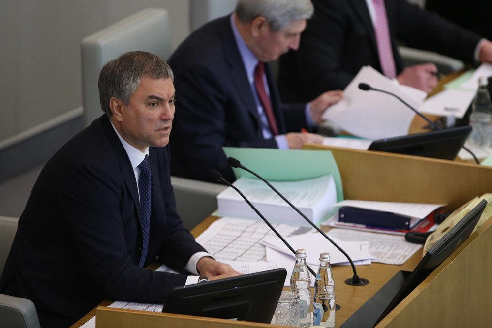 Володин назвал сомнительным легитимность решения об автокефалии