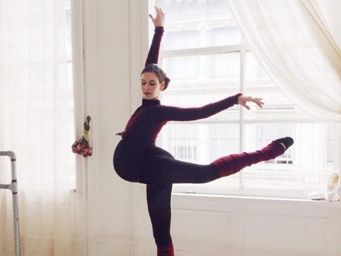 Беременная балерина: поразит…