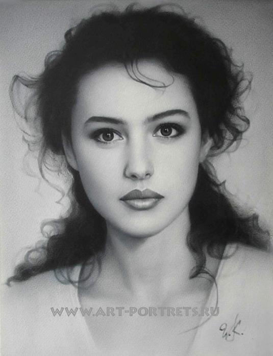 Потрясающе реалистичные портреты от Игоря Казарина...