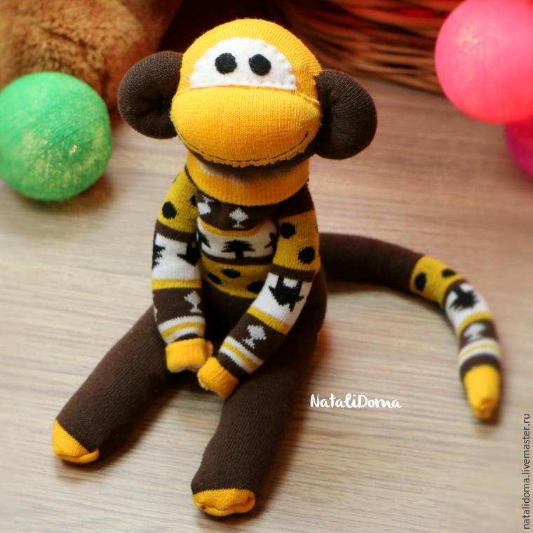 Как сделать милую обезьянку