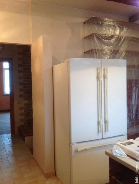 Декор холодильника в стиле Прованс