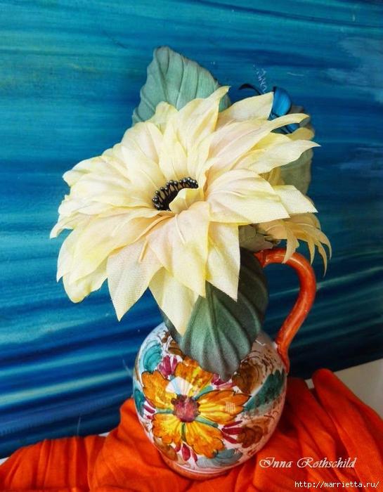 Цветы из шелка от Inna Rothschild (10) (545x700, 284Kb)