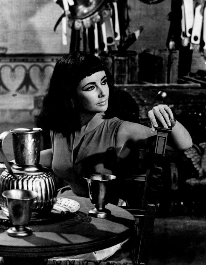 Элизабет Тейлор (Elizabeth Taylor) на съемках фильма «Клеопатра» (Cleopatra) (1963), фото 22