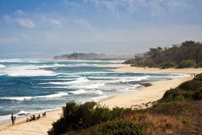 Гавайи: дикий пляж