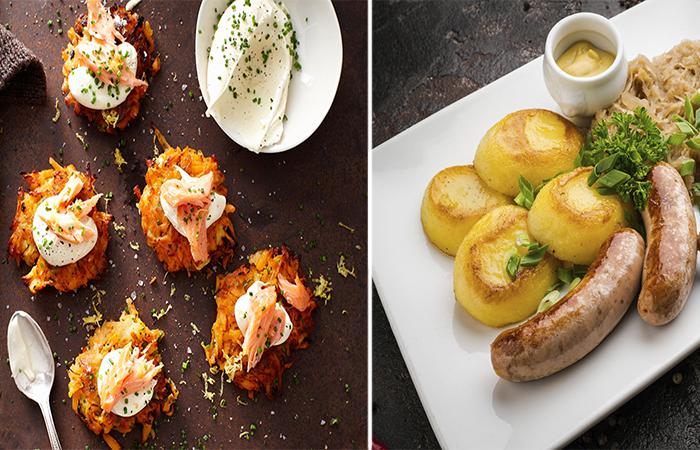 Картофельный гратен с сырной корочкой.  Фото: bigmir.net.