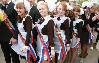 Для российских выпускников прозвенел последний звонок