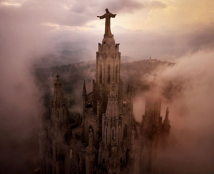 Потрясающие фотографии беспилотника, которые сейчас считались бы незаконными высота, красота, фото