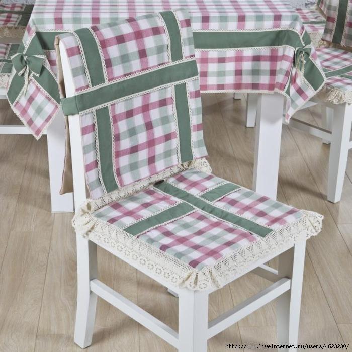 Сшить своими руками чехлы на стулья