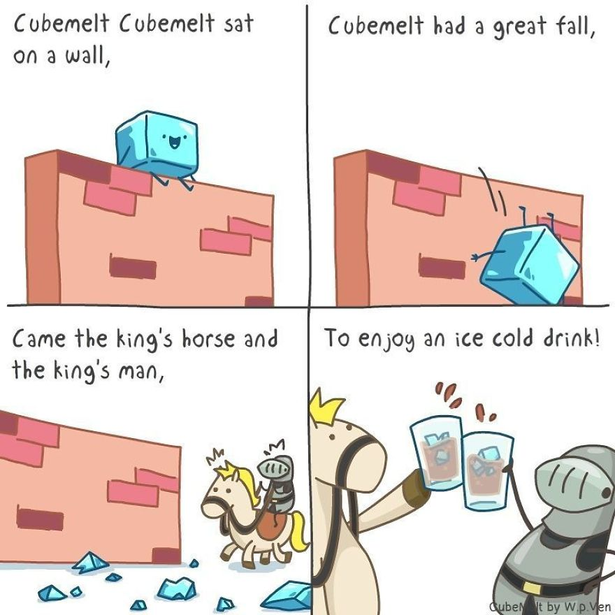 I Created 36 Comics About The (Mis)adventures Of A Wholehearted Ice Cube