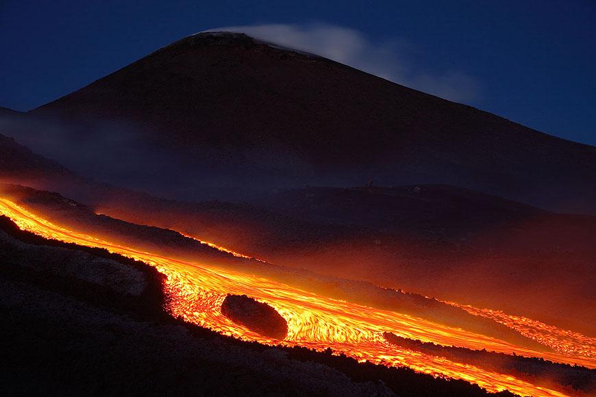 Самый красивый вулкан