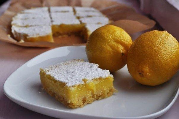 Ароматные лимонные пирожные с песочным тестом для сладкоежек
