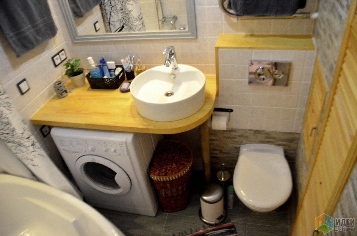 Ремонт туалет ванная своими руками фото