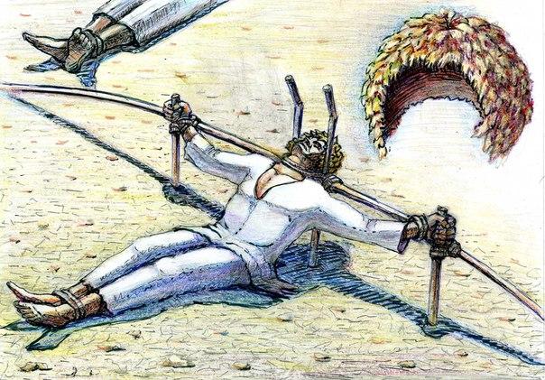 Жестокая пытка рабов видео фото 440-168