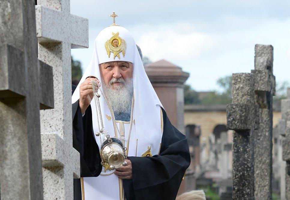Патриарх Кирилл становится В…