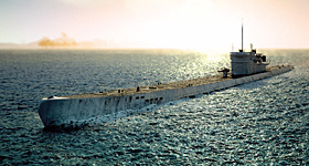 Субмарина охотилась за конвоями в Северном Ледовитом океане