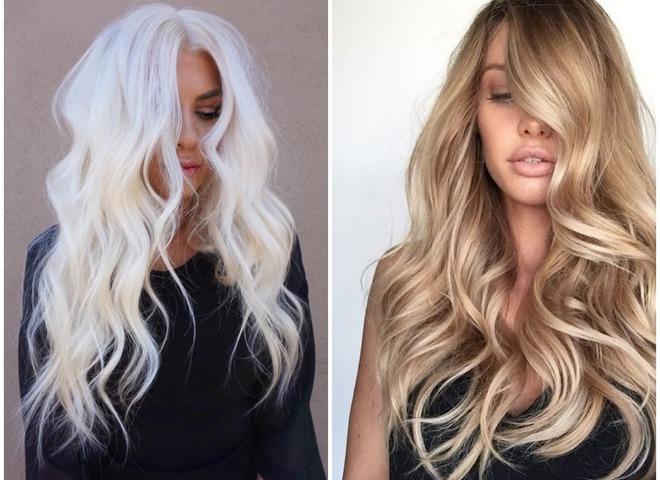 Окрашивание волос на лето 2018: ТОП-5 модных оттенков для блондинок