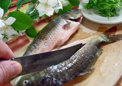 Хитрый рыбный суп