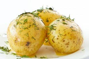 С аджикой и разными грибами. Готовим блюда из картофеля