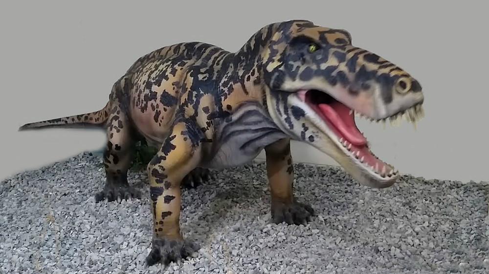 5. Титанофонеус (Приуралье). динозавры, доисторические животные, животные, история