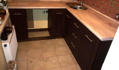 Кухня своими руками! Без косяков не обошлось, но - это же моя первая кухня