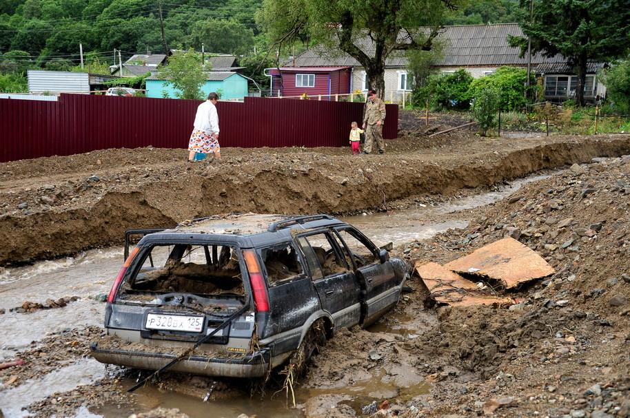 Тайфун Гони, потоп в Уссурийске, неделя в крае (ФОТО)
