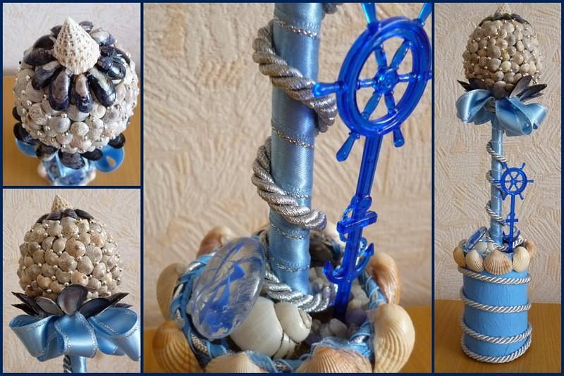 Сделать сувениры своими руками морские 24