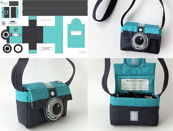 Сумка-фотоаппарат (Diy)