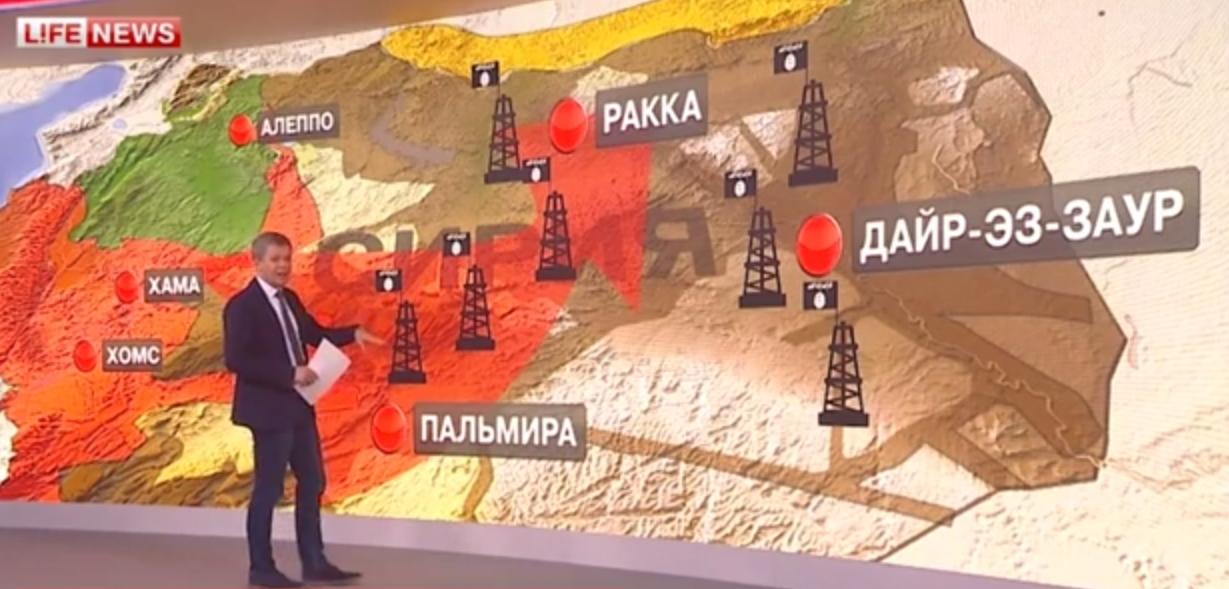 Три  этапа  операции ВКС России в Сирии