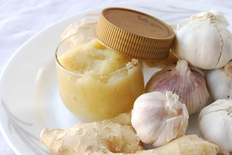 Рецепт пасты из имбиря и чеснока